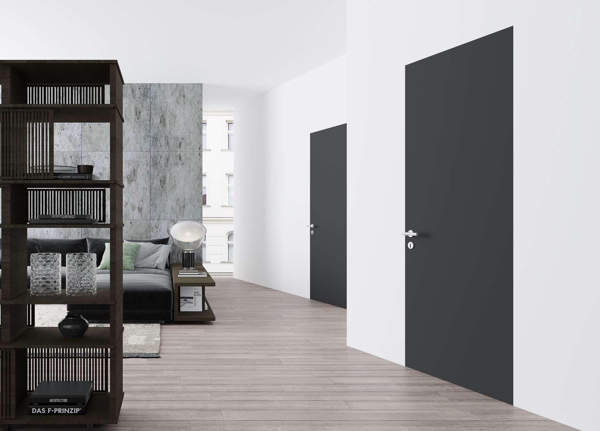 porte raso muro, Porte raso muro: eleganti e minimal