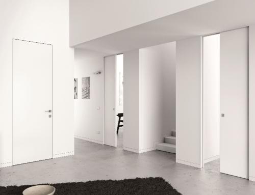Porte raso muro: eleganti e minimal