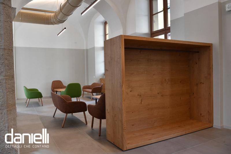 cantiere,lavori eseguiti, Storie di cantiere: i lavori eseguiti per il nuovo BAR presso l'ex Manifattura di Rovereto